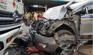 Thiếu tá quân đội say xỉn điểu khiển ô tô gây tai nạn chết người