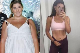 Từng nặng 120kg, cô gái quyết giảm 55kg để mặc vừa váy cưới