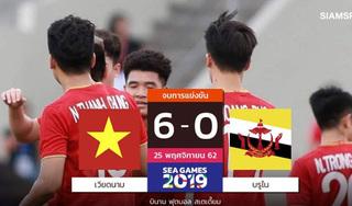 Người Thái ngỡ ngàng với chiến thắng đậm của U22 Việt Nam trước Brunei