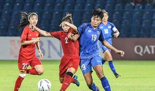 Tuyển nữ Việt Nam chia điểm đáng tiếc trước Thái Lan