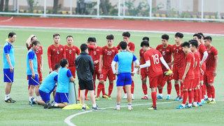 Đội tuyển U22 Việt Nam nhận tin sốc trước trận gặp U22 Lào