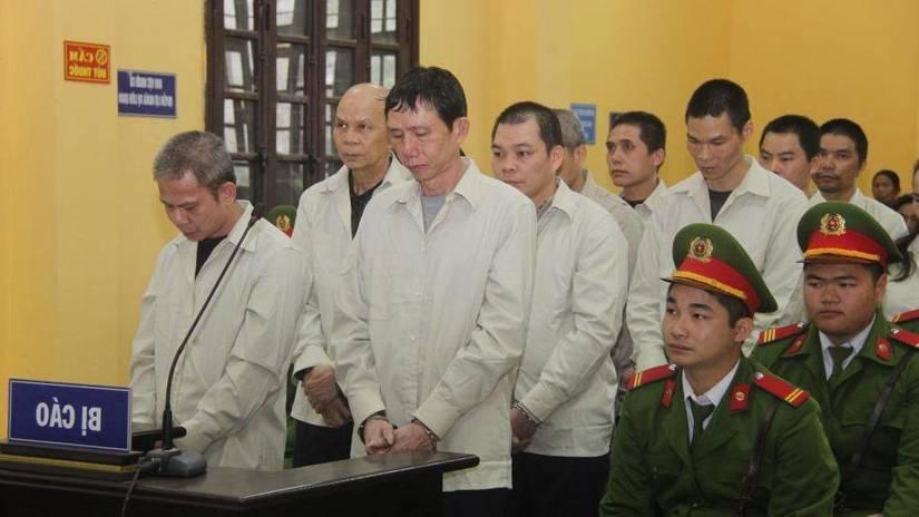 11 án tử, 1 án chung thân cho đường dây vận chuyển hàng nghìn bánh heroin ở Lạng Sơn