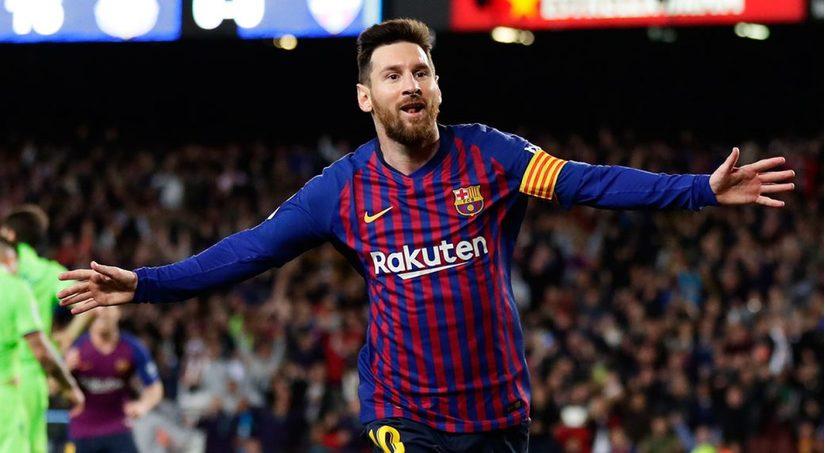 Tiền đạo Messi lập kỷ lục ấn tượng ở Champions League
