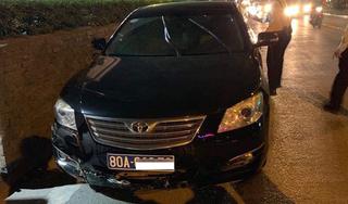 Vụ xe Liên đoàn Bóng đá Việt Nam gây tai nạn bỏ chạy: Tài xế vi phạm nồng độ cồn