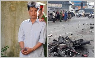 Tài xế container tông 21 xe máy làm 4 người chết nhận án 12 năm tù