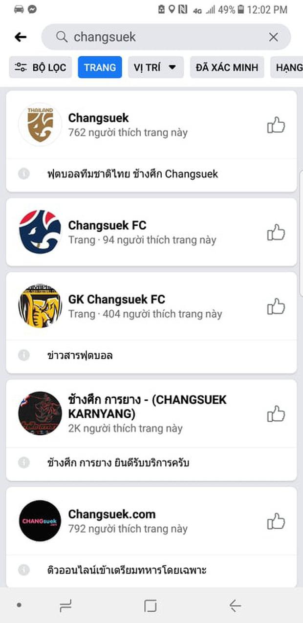 Fanpage đội tuyển Thái Lan cấm cửa cổ động viên từ Việt Nam2