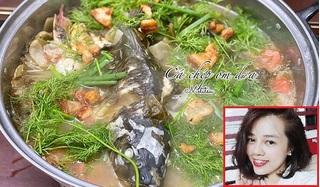 Trời se lạnh, học vợ đảm nấu cá chép om dưa thơm lừng, nóng hổi đãi cả nhà