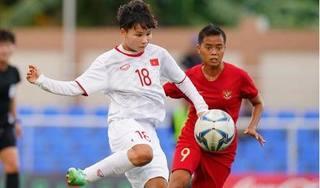 Thắng đậm Indonesia, tuyển nữ Việt Nam vào bán kết SEA Games