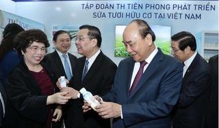 Ấn tượng TH true MILK tại triển lãm 60 năm thành tựu khoa học công nghệ Việt Nam