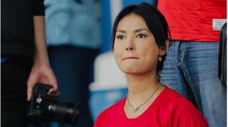'Thánh nữ' Maria Ozawa tiếp tục cổ vũ U22 Indonesia đấu U22 Việt Nam