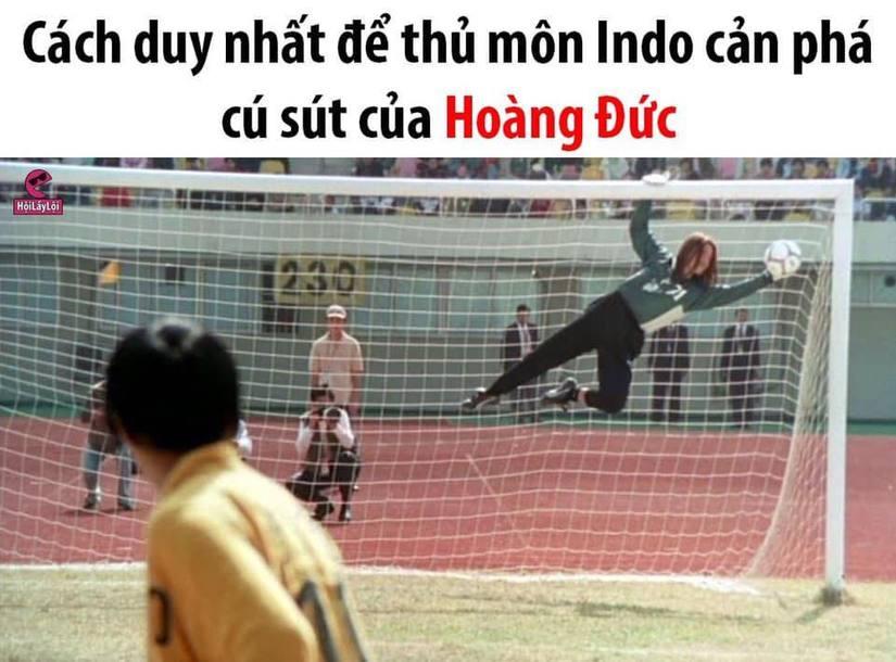 Loạt ảnh chế hài hước về màn ngược dòng của Việt Nam trước Indonesia10