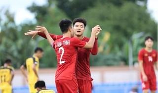 U22 Việt Nam đón nhận hai tin vui trước trận quyết đấu với U22 Singapore
