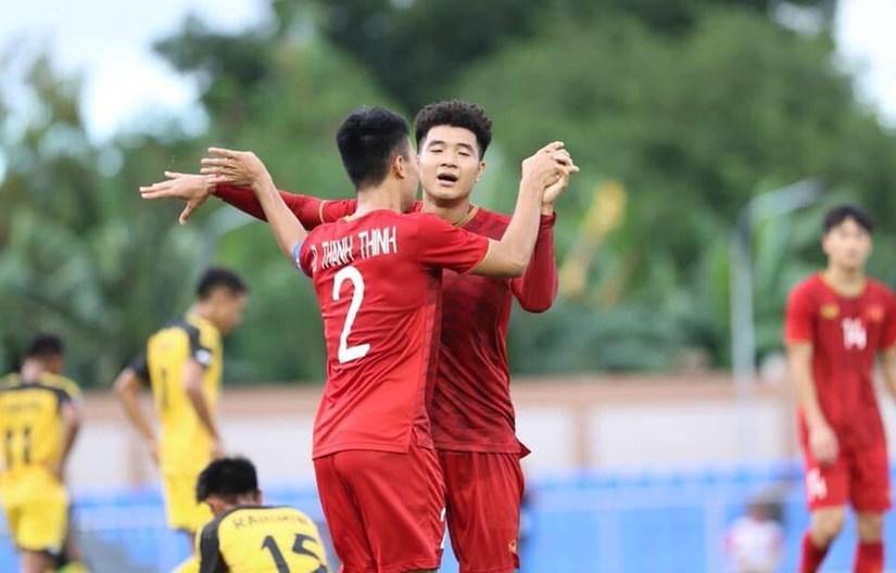 U22 Việt Nam đón nhận hai tin vui trước trận quyết đấu với U22 Singapore.