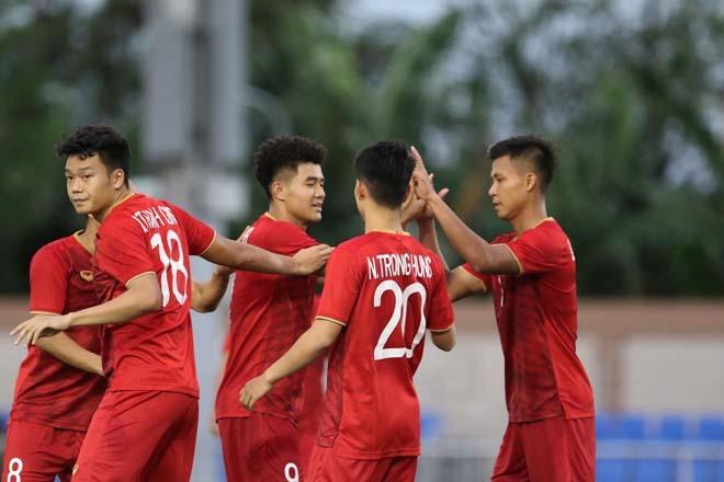 Tiền vệ Trần Thanh Sơn rất tự tin về cơ hội đi tiếp của U22 Việt Nam