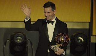 Lionel Messi đã đoạt danh hiệu Quả bóng Vàng thứ 6 trong sự nghiệp