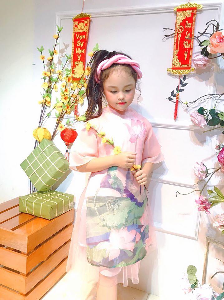 Bồi hồi như thấy 'cả mùa xuân' trong bộ ảnh hai chị em diện áo dài cực yêu2