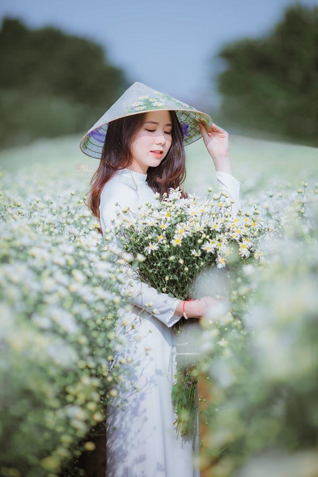 Thiếu nữ 9X Hà Thành gây thương nhớ bên cúc họa mi tinh khôi2