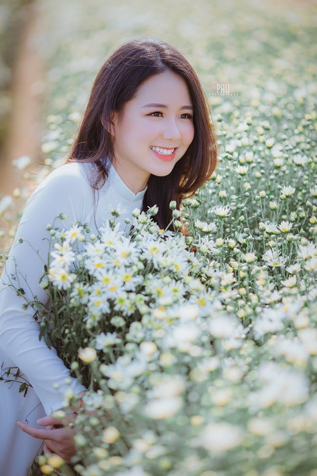 Thiếu nữ 9X Hà Thành gây thương nhớ bên cúc họa mi tinh khôi4