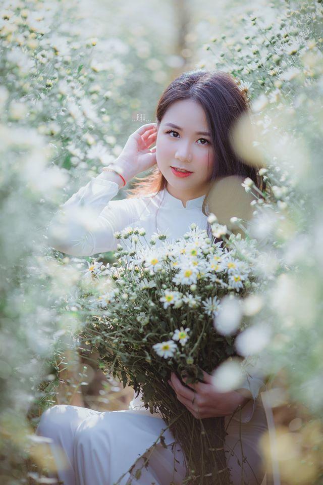 Thiếu nữ 9X Hà Thành gây thương nhớ bên cúc họa mi tinh khôi6