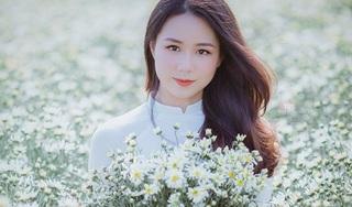 Thiếu nữ Hà Thành gây thương nhớ bên cúc họa mi tinh khôi