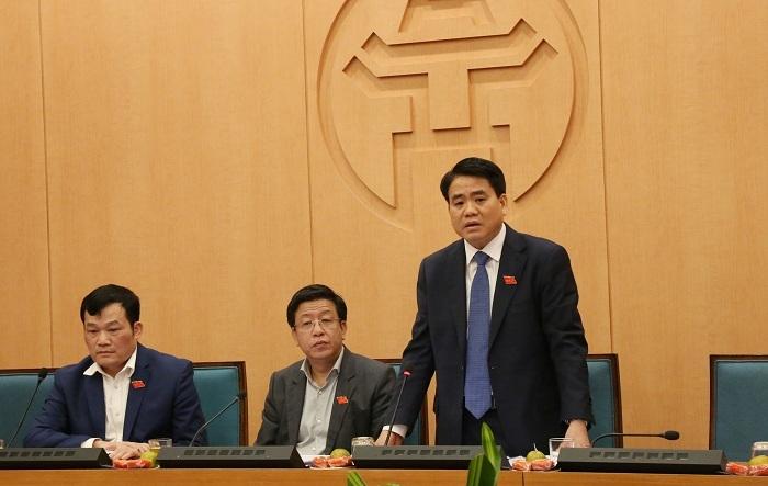 Ông Nguyễn Đức Chung nói gì việc Nhật Cường thực hiện dịch vụ công?