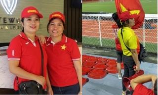 Bất ngờ danh tính nữ CĐV có câu hát 'bay lên trời' gây bão trận U22 Việt Nam - U22 Singapore