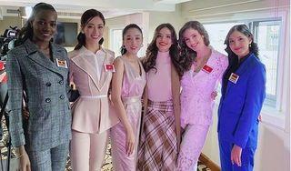 Lương Thuỳ Linh lọt top 3 bình chọn Miss World