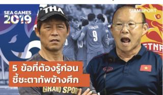 Báo Thái hoài nghi về khả năng giành chiến thắng của đội nhà trước U22 Việt Nam