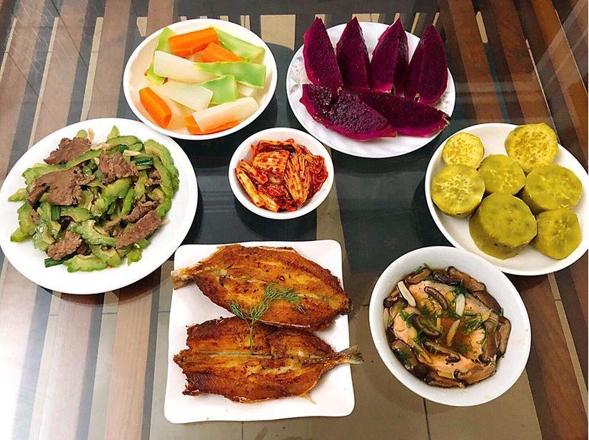 Vợ bầu 9X đảm đang hết nấc, nấu ăn ngon và bổ dưỡng miễn chê4