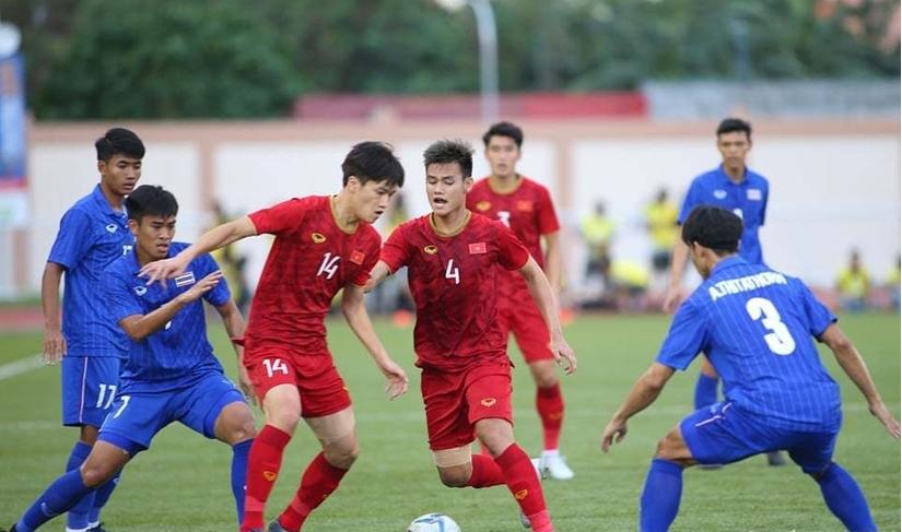 U22 Việt Nam thua sát nút trước U22 Thái Lan