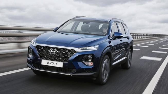 Hyundai SantaFe 2020 thêm nhiều trang bị hấp dẫn, giá chỉ từ 673 triệu