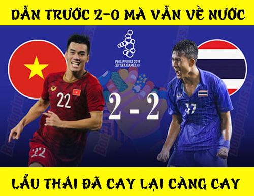 Cười nghiêng ngả với loạt ảnh chế sau trận U22 Việt Nam - U22 Thái Lan