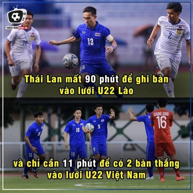 Cười nghiêng ngả với loạt ảnh chế sau trận U22 Việt Nam - U22 Thái Lan4