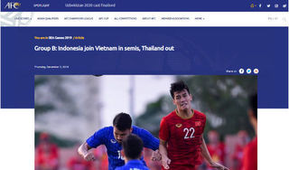 Báo quốc tế nể phục tinh thần 'thép' của U22 Việt Nam