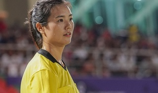 Chân dung nữ trọng tài xinh đẹp gây 'sốt' sau trận Việt Nam - Philippines