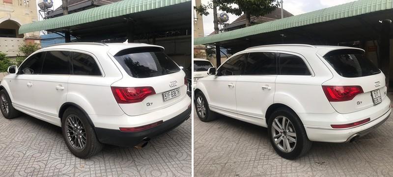 Kết quả xác minh 2 xe Audi có biển số và giấy tờ trùng nhau