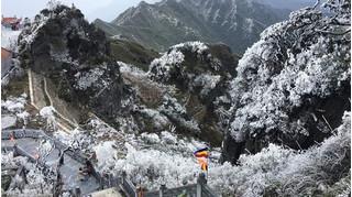 Bắc Bộ rét dưới 4 độ C, băng giá, tuyết rơi phủ trắng núi rừng