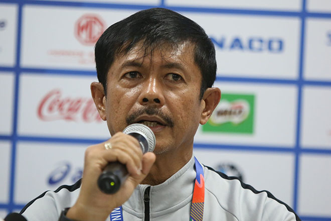 HLV Indonesia muốn gặp lại U22 Việt Nam ở chung kết SEA Games