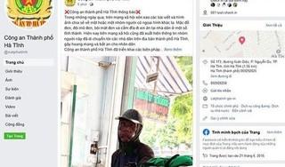 Thực hư thông tin 'người mặt đen' đến Cà Mau, Hà Tĩnh
