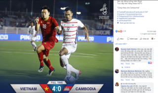 CĐV Campuchia: 'U22 Việt Nam quá vượt trội, họ sẽ vô địch SEA Games'