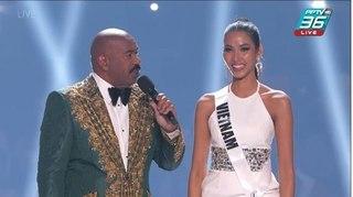 Hoàng Thùy dừng chân Top 20 Miss Universe 2019