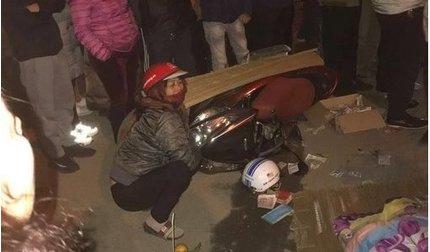 Nữ giáo viên bị xe tải tông tử vong khi đi thăm người ốm