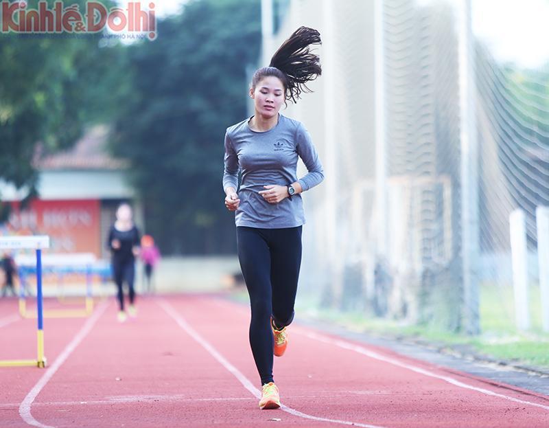 Điền kinh lại gây sốt với Đinh Thị Bích-VĐV Nam Định lần đầu dự SEA Games