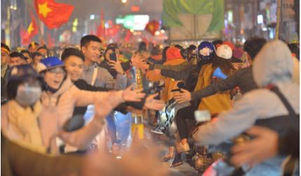 Hàng triệu CĐV không ngủ mừng U22 Việt Nam vô địch SEA Games 30