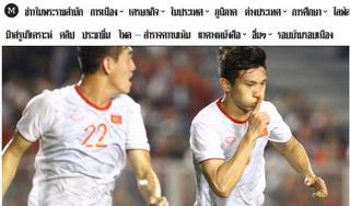 Báo Thái 'ngả mũ' trước thành tích vô địch SEA Games của U22 Việt Nam