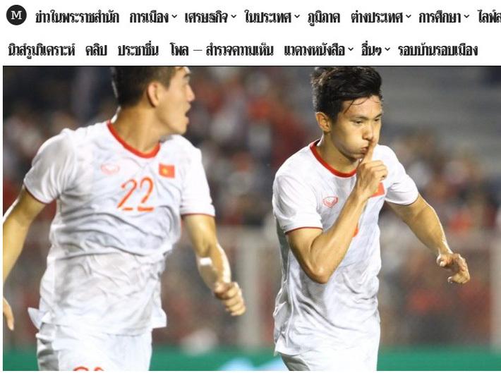 Người Thái 'ngả mũ' trước thành tích vô địch SEA Games của U22 Việt Nam