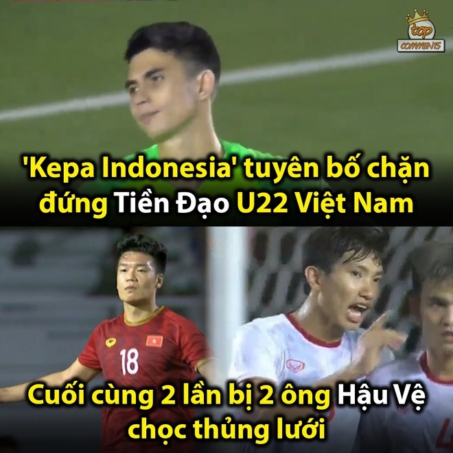 Loạt ảnh chế bùng nổ khi U22 Việt Nam giành HCV SEA Games 304