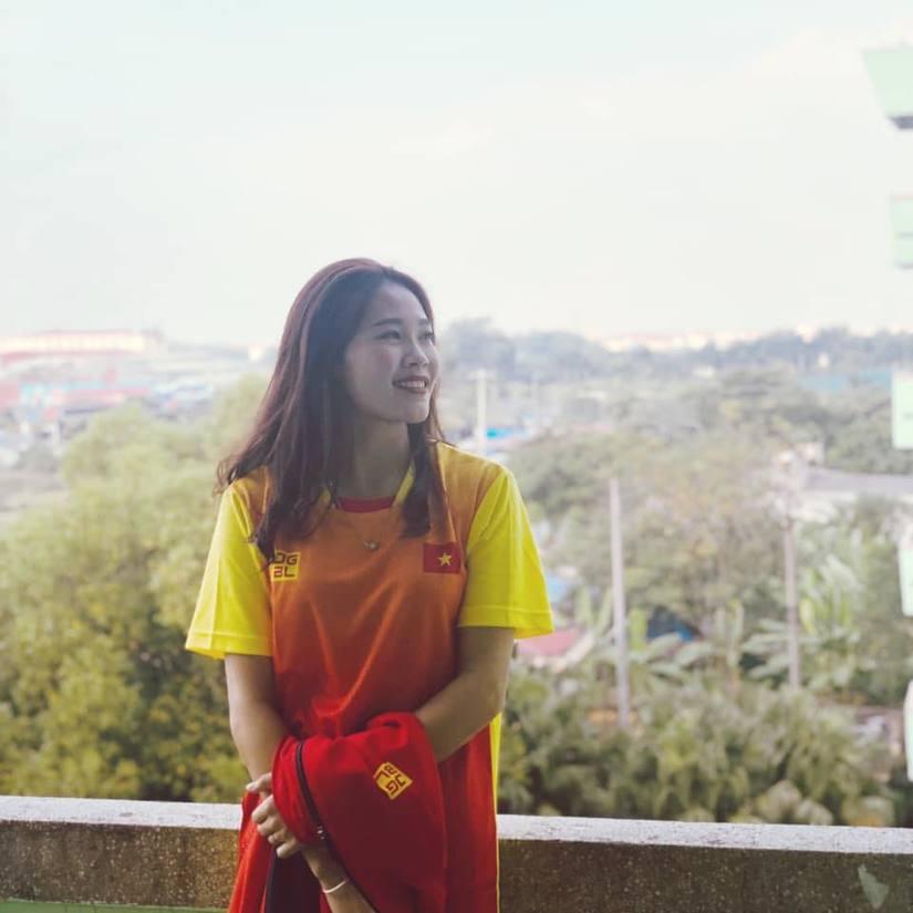Ảnh đời thường xinh đẹp của nữ VĐV Nam Định lần đầu dự SEA Games 3