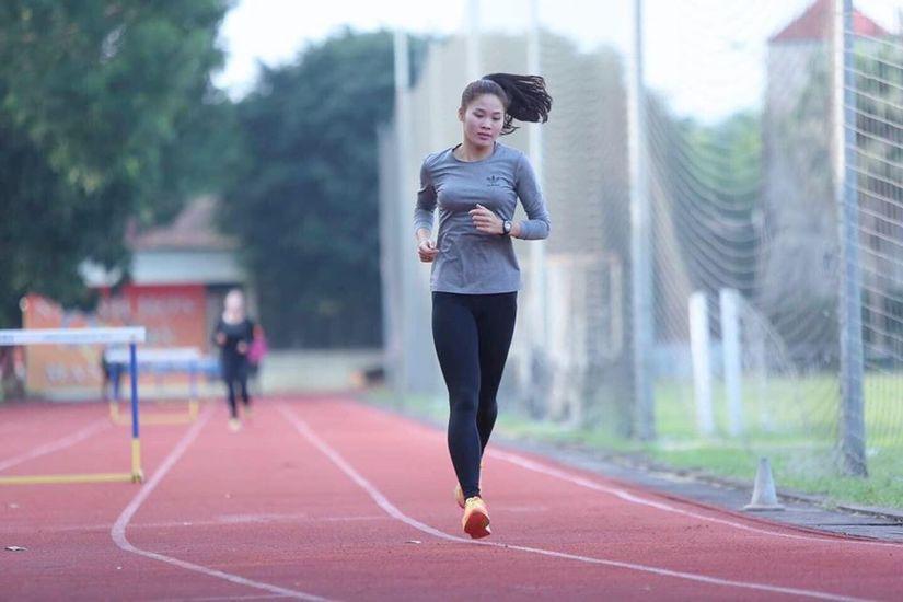 Ảnh đời thường xinh đẹp của nữ VĐV Nam Định lần đầu dự SEA Games