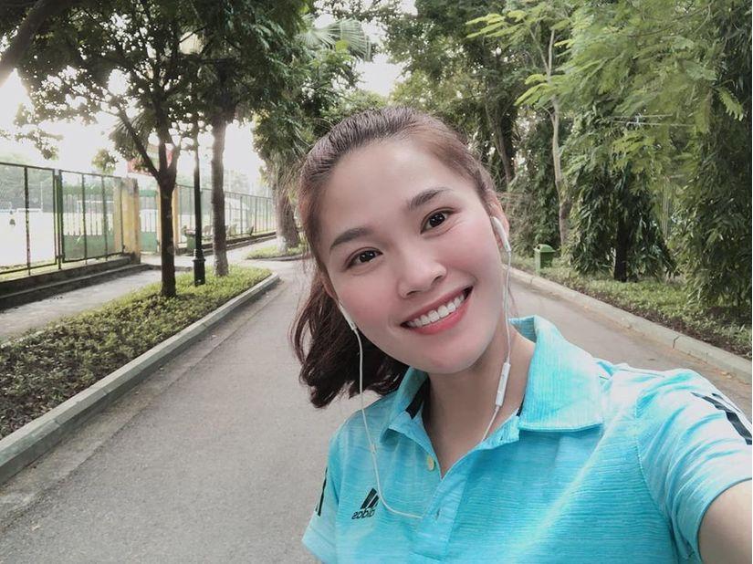 Ảnh đời thường xinh đẹp của nữ VĐV Nam Định lần đầu dự SEA Games 5